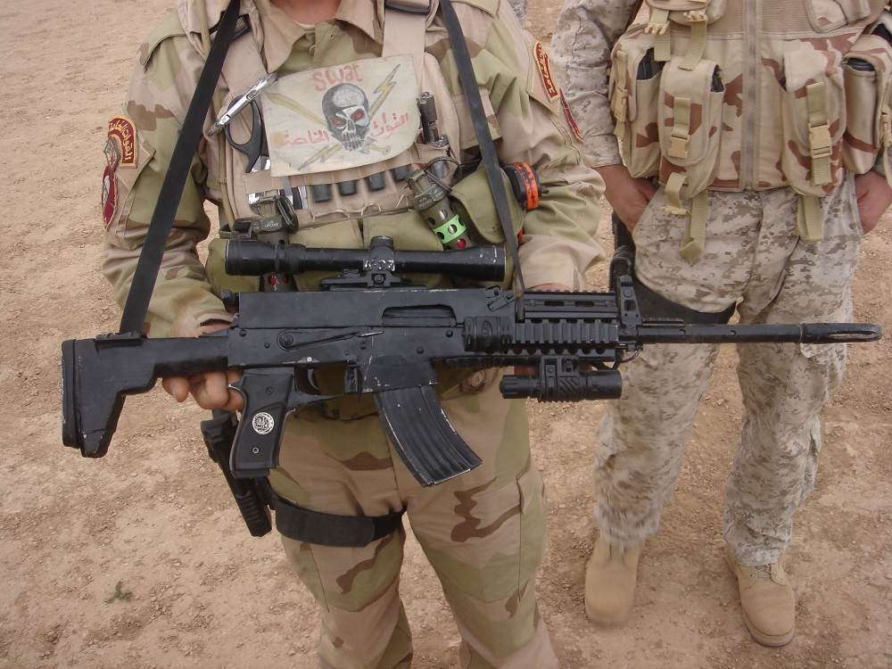 Strange and interesting weapons in iraq reflexive fire check thecheapjerseys Image collections