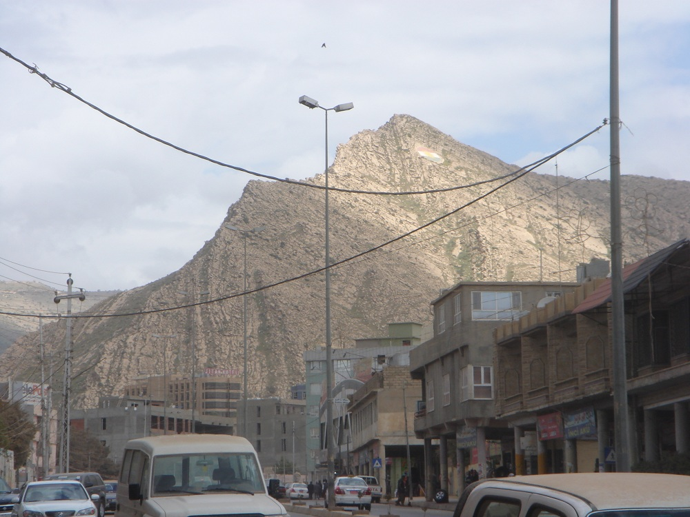 Duhok is surrounded by mountains like this which is part of the reason ...